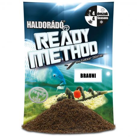 Haldorádó Ready Method Etetőanyag Brauni