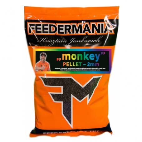 FEEDERMÁNIA Monkey Pellet 2mm