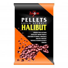 Carp Zoom Red Halibut Pellet (Fúratlan)