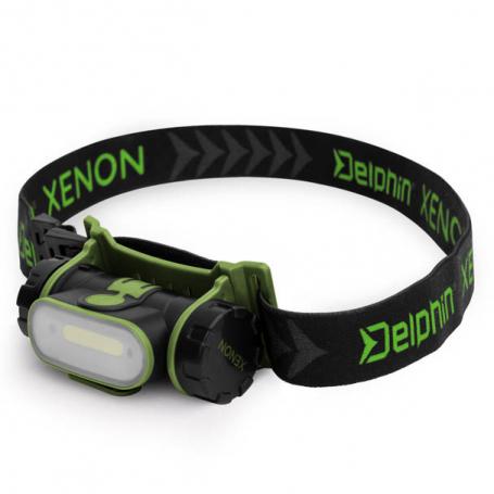 Delphin Xenon Akkumulátoros Fejlámpa