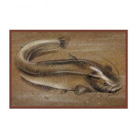 Delphin Retro Harcsás Lábtörlő