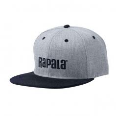Rapala Flat Brim Cap Szürke/Fekete