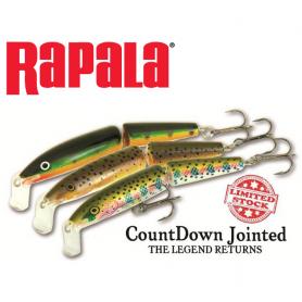 Rapala Countdown Jointed Wobbler CDJ09
