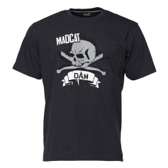 Mad Cat Skull Tee Póló