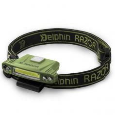 Delphin RAZOR USB Tölthető Fejlámpa