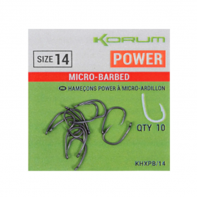 Korum Xpert Power Barbed Horog