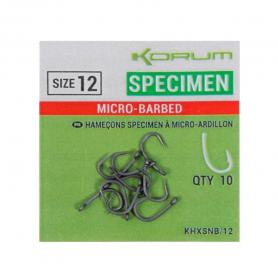 Korum Xpert Specimen Micro-Barbed Horog