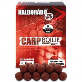 Haldorádó Carp Boilie Főzött - Fűszeres Vörös Máj 24mm