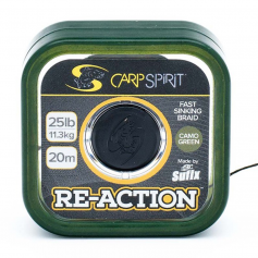 Carp Spirit Re-Action Camo Green Fonott Előkezsinór