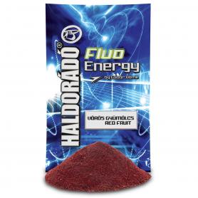 Haldorádó Fluo Energy Etetőanyag - Vörös Gyümölcs
