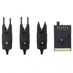 Prologic Fulcrum RMX-Pro Bite Alarm Elektromos Kapásjelző Szett 3+1