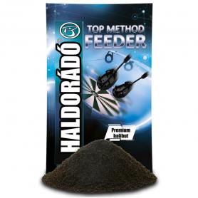 Haldorádó Top Method Feeder Etetőanyag - Premium Halibut