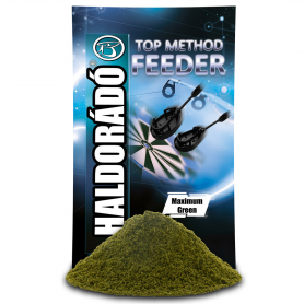 Haldorádó Top Method Feeder Etetőanyag - Maximum Green