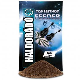 Haldorádó Top Method Feeder Etetőanyag - Brutal Liver