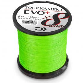 Tekercselt Daiwa Tournament EVO+ 8 Fonottzsinór