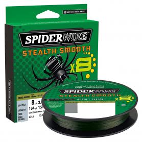 Spiderwire Stealth Smooth X8 Fonott Zsinór