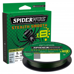 Spiderwire Stealth Smooth X8 Fonott Zsinór