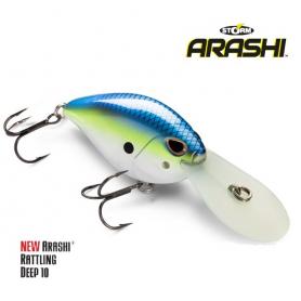 Storm Arashi Rattling Deep 10 Wobbler