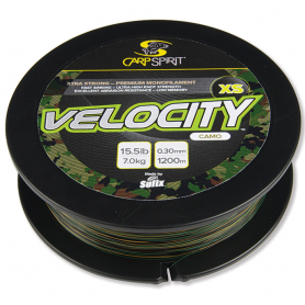 Carp Spirit Velocity XS Camo 1200m Damil