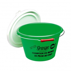 Sensas Club Bucket Green 15L Vödör