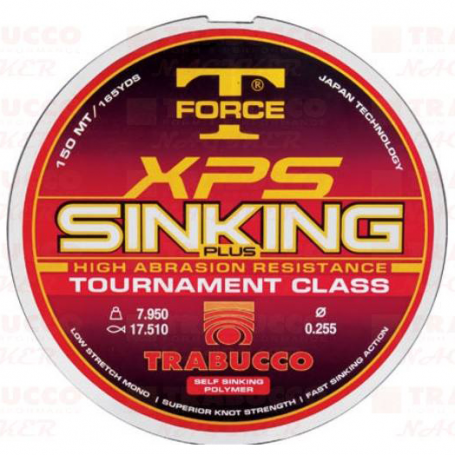T-Force XPS Sinking Plus Damil 150m