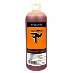FEEDERMANIA River Liquid - Strawberry Cream