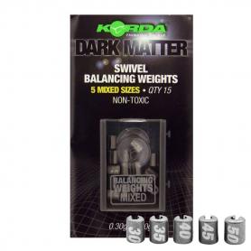 Korda Dark Matter Swivel Balancing Weights Előkesúly