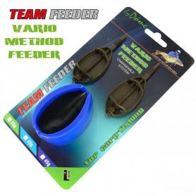 Vario Method Feeder 2+1 szett By Döme Team Feeder