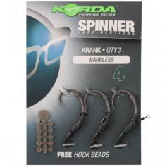 Korda Spinner Hook Sections Krank Barbless