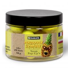 Zebco Radical Pineapple Zombie Neon Pop-Up Bojli
