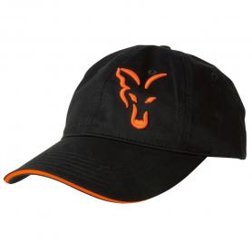 Fox Black/Orange Baseball Sapka