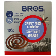 Bros Plus Szúnyogriasztó Spirál