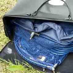 Száktartó táska
